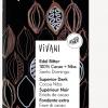 Mørk sjokolade m/kakaonibs, 100%, 80 g, vegan, økologisk, Vivani