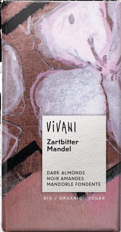 Vivani Mørk sjokolade m/mandel