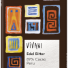 Mørk sjokolade, Peru, 89%, 80 g, økologisk, Vivani