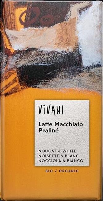 Vivani Latte Macchiato Sjokolade - 100g