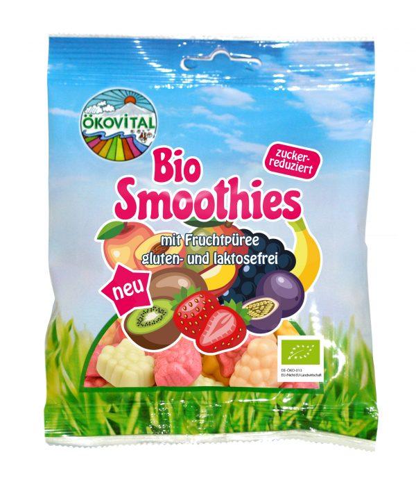 Smoothie godteri, laktosefri, glutenfri, 100 g, økologisk, Ökovital