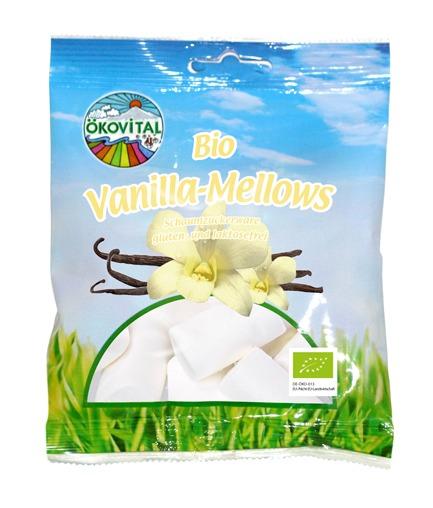 Marshmellows, vanilje, glutenfri, 100 g, økologisk, Ökovital