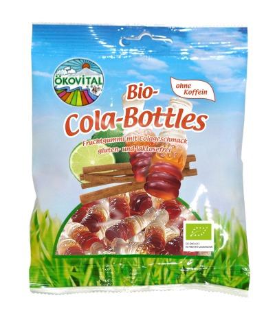 Colaflasker, glutenfri, laktosefri, 100 g, økologisk, Ökovital