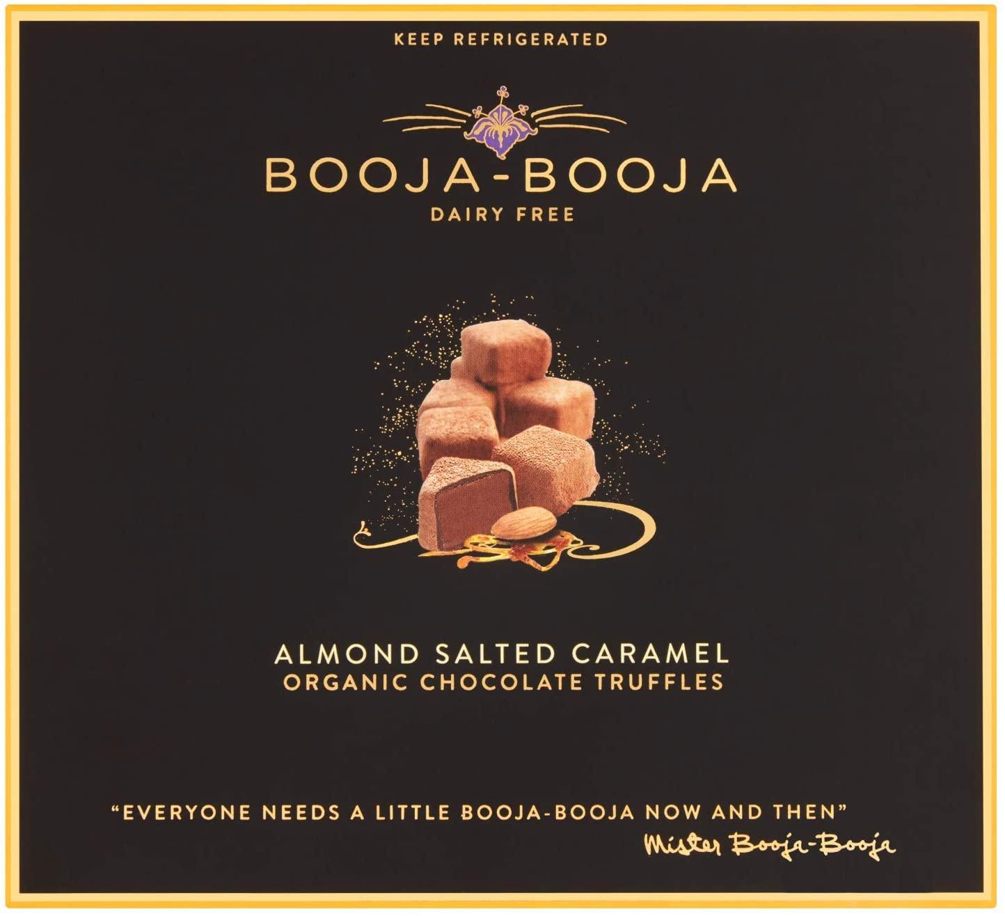 Booja Booja almond caramel choc truffles 138g