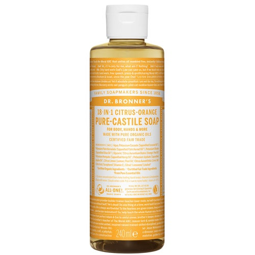Dr. bronner Sitrus-Orange såpe 240 ml