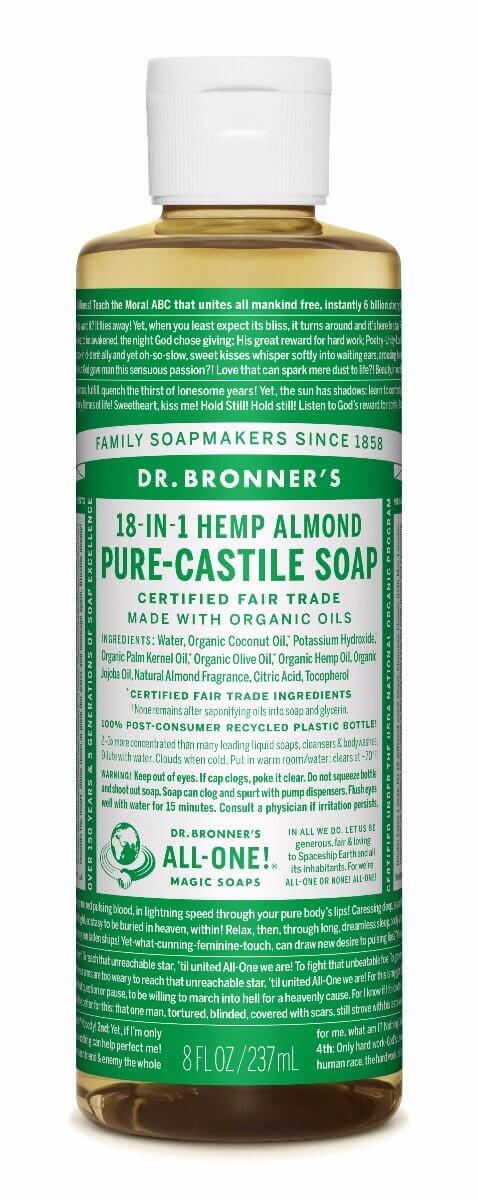 Dr. bronner Mandel såpe 240 ml