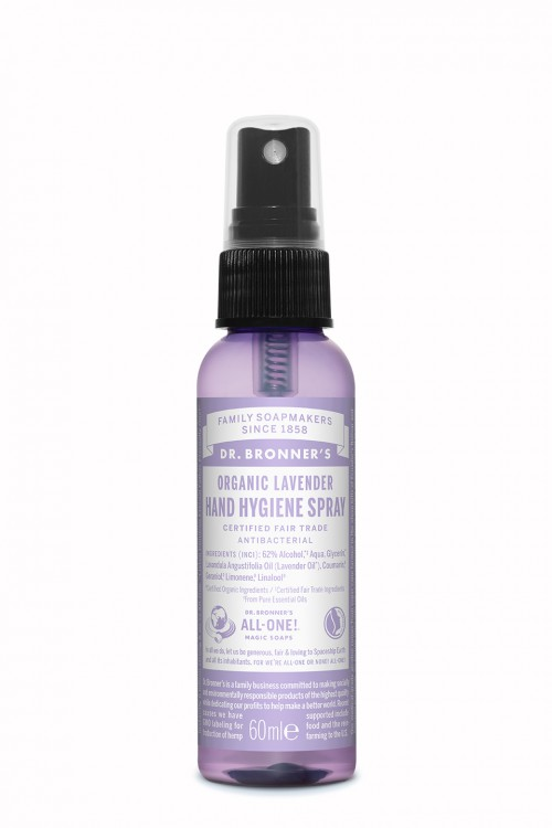 Dr. Bronners Lavender Hand Sanitizer 60 ml