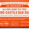 Dr. Bronners ALL-ONE Tea Tree Castille Såpe 140g