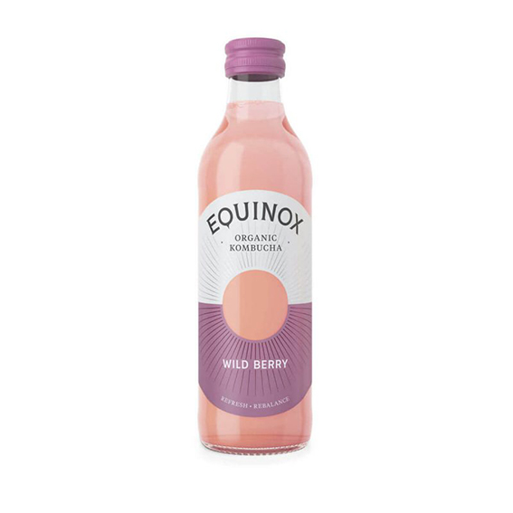 Equinox kombucha wild berry 275 ml