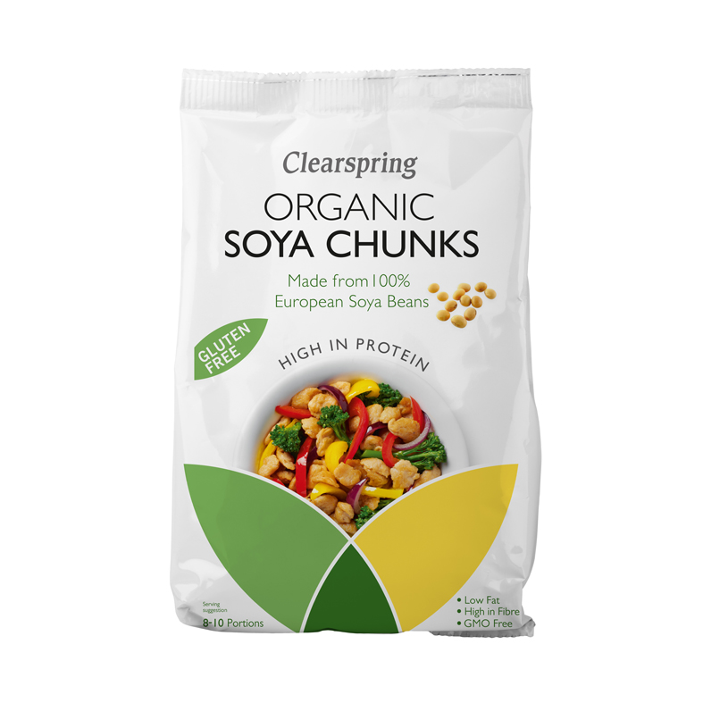 Clearspring soyabiter 200g økologisk