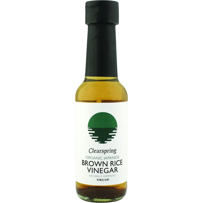 Clearspring brown rice vinegar 150 ml