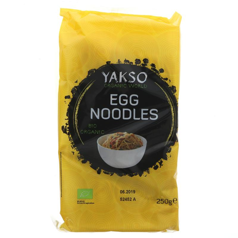 Yakso Egg Noodles - organic - 250g