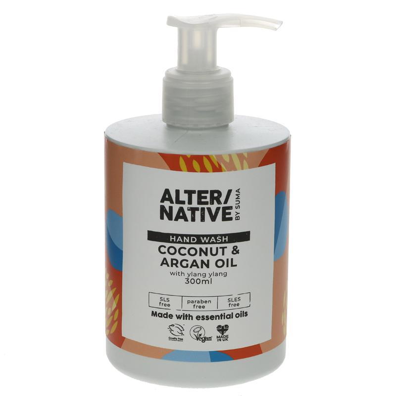 Alter/native By Suma Coconut & Argan Oil Hand Wash - 300ml