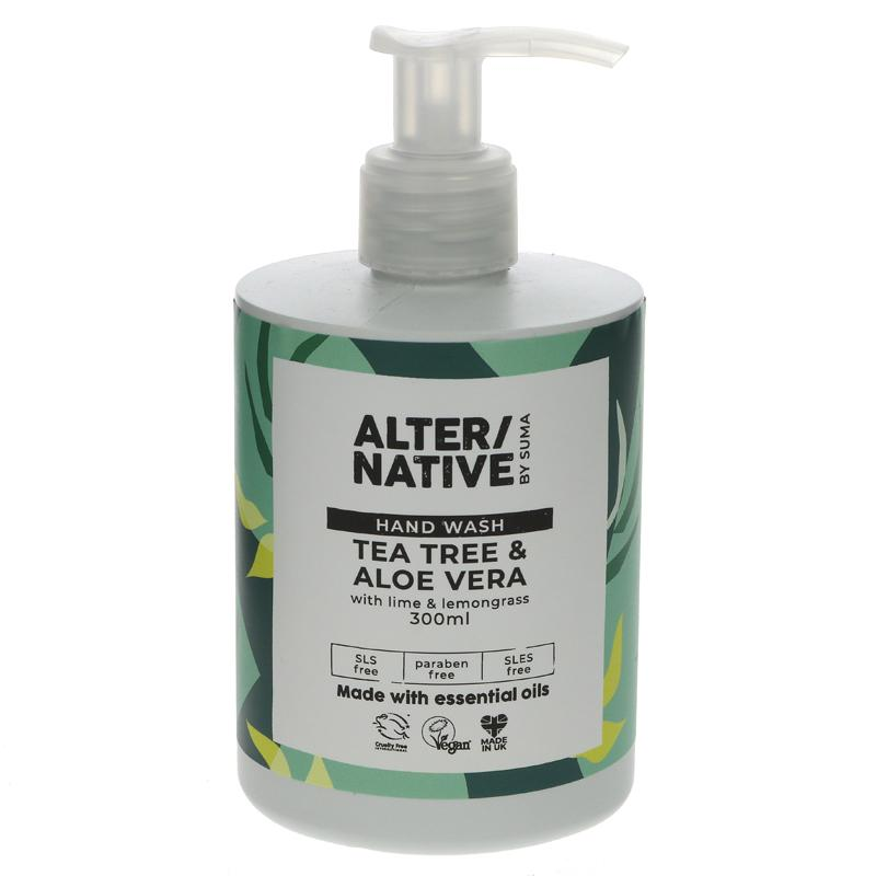 Alter/native By Suma Tea Tree & Aloe Hand Wash - 300ml
