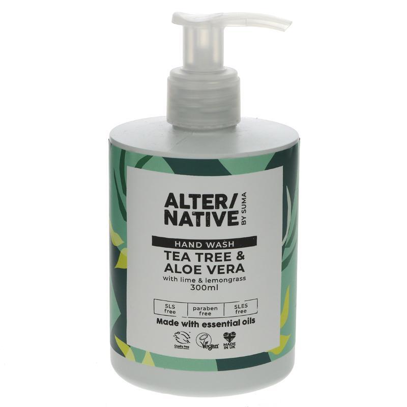 Alter/native By Suma Tea Tree & Aloe Hand Wash - 300ml