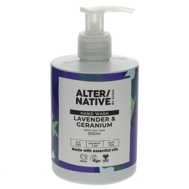 Alter/native By Suma Lavender & Geranium Hand Wash - 300ml