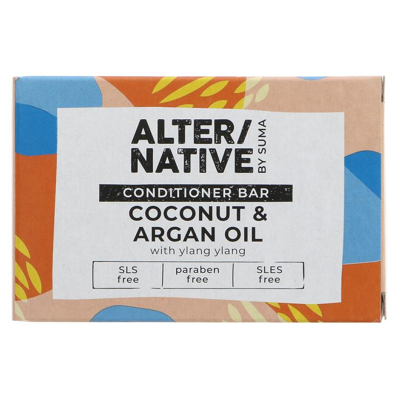 Alter/native By Suma Hair Conditioner Bar - Coconut & Argan Oil - 90g