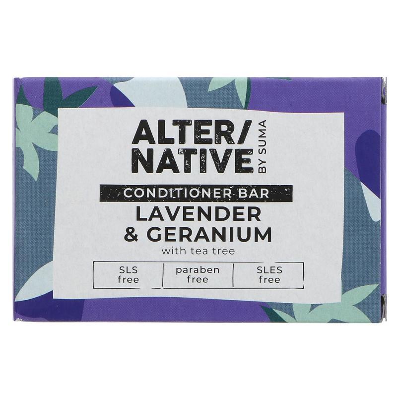 Alter/native By Suma Hair Conditioner Bar - Lavender Geranium - 90g