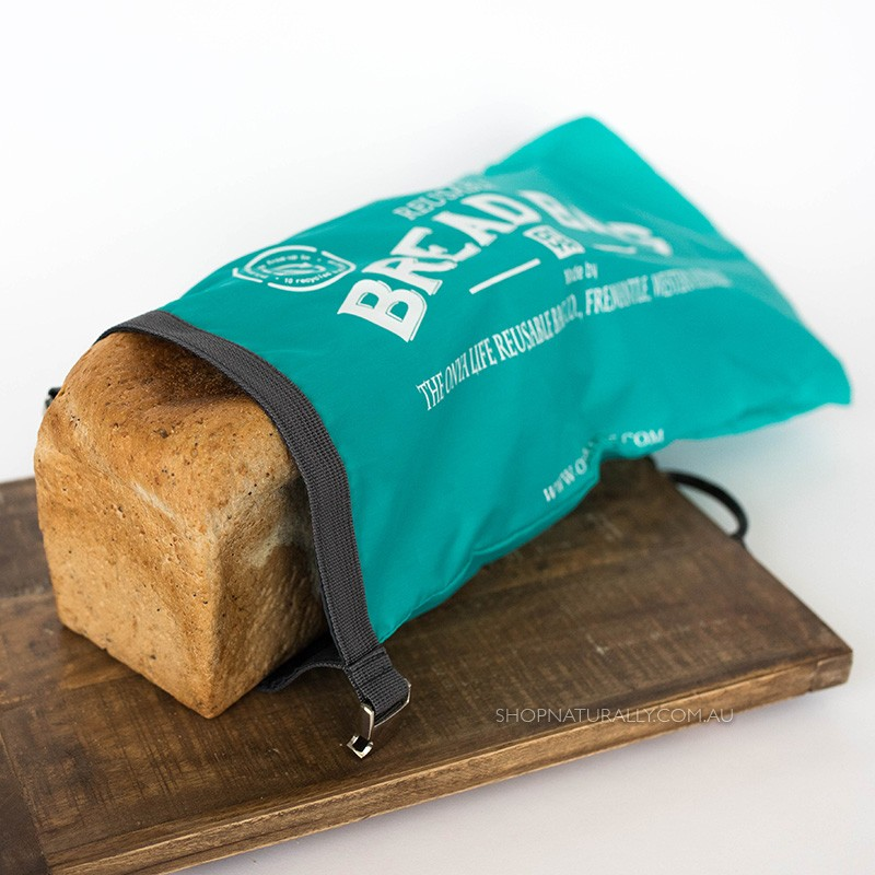 Onya Bread Bags - Aqua