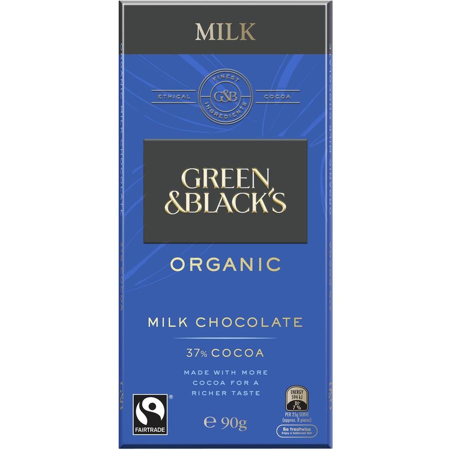 Green & Blacks Milk Chocolate - 90g