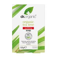 Dr. Organic Såpe Tea Tree 100g