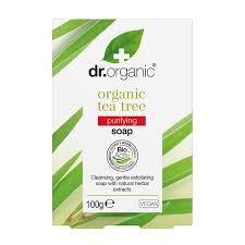 Dr. Organic Såpe Tea Tree 100g