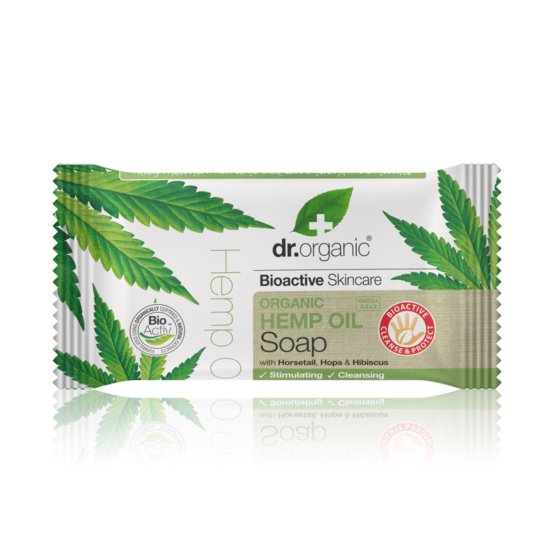 Dr. organic hemp oil soap 100 gr