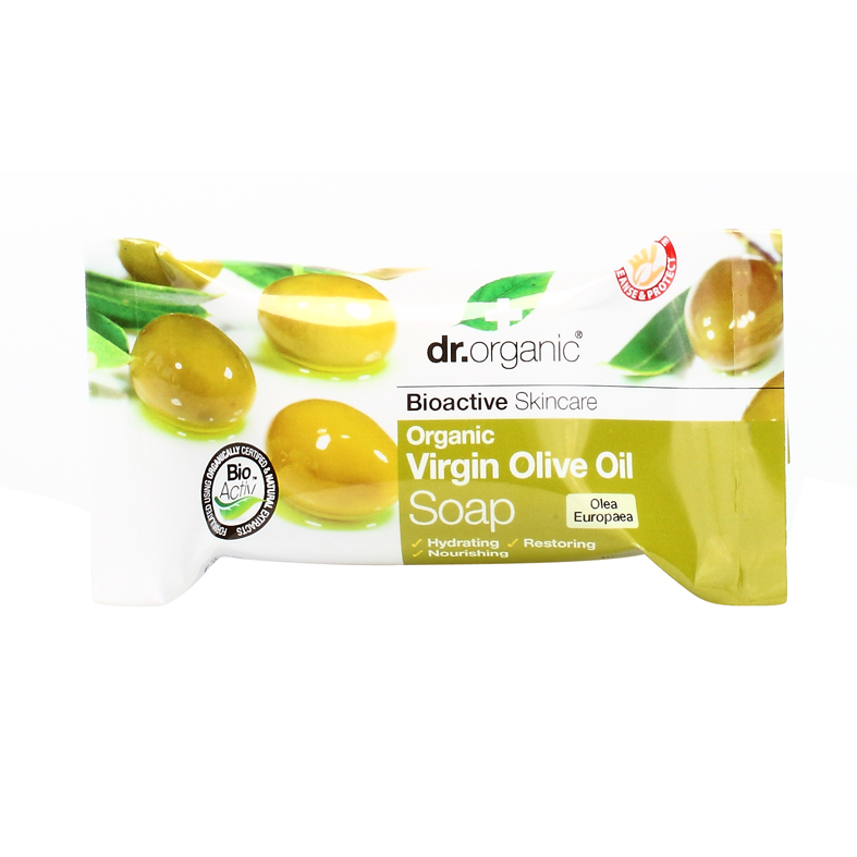 Dr. organic virgin olive oil soap 100 gr