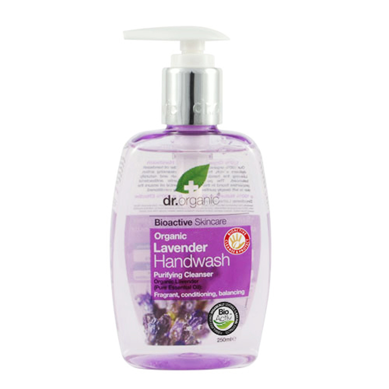 Dr. Organic håndsåpe Lavendel 250ml