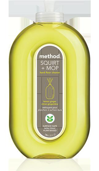 Method Squirt & Mop All Floor Cleaner Lemon & Ginger 739 ml