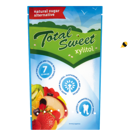 Total Sweet Xylitol - 225g