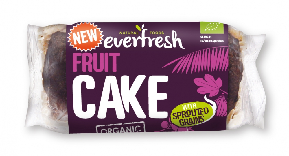 Everfresh Natural Foods Sprouted Fruit Cake - 350g