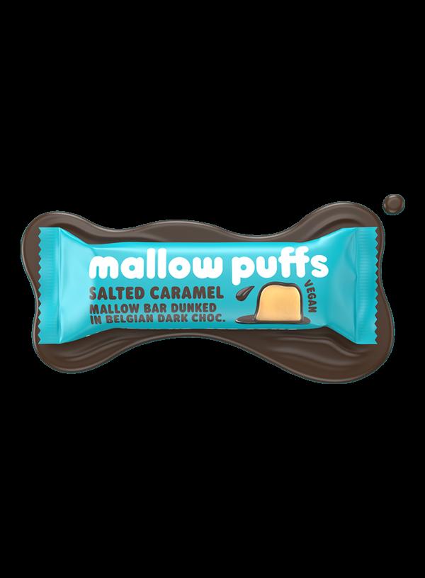 Mallow Puffs Salted Caramel Bar 30g