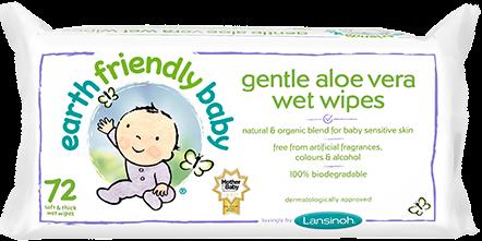 Earth Friendly Baby våtservietter