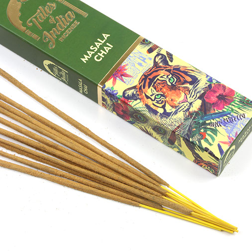 Siesta Crafts Tales Of India Incense - Masala Chai - 15g