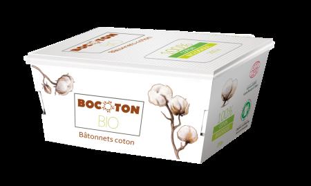 Bocoton Q-tips. 200 stk.  Økologisk