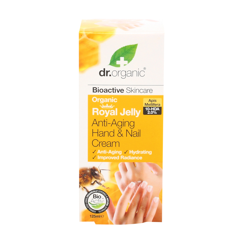 Dr. organic royal jelly håndkrem 125 ml