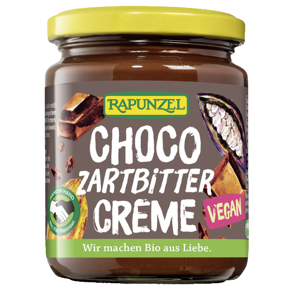 Rapunzel Sjokoladepålegg. Vegan. 250g