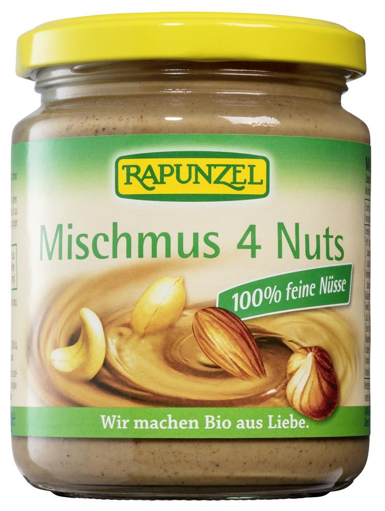 Nøttesmør mix 250g Rapunzel