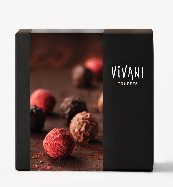 Trøffelpraliner, 100 g, økologisk, Vivani