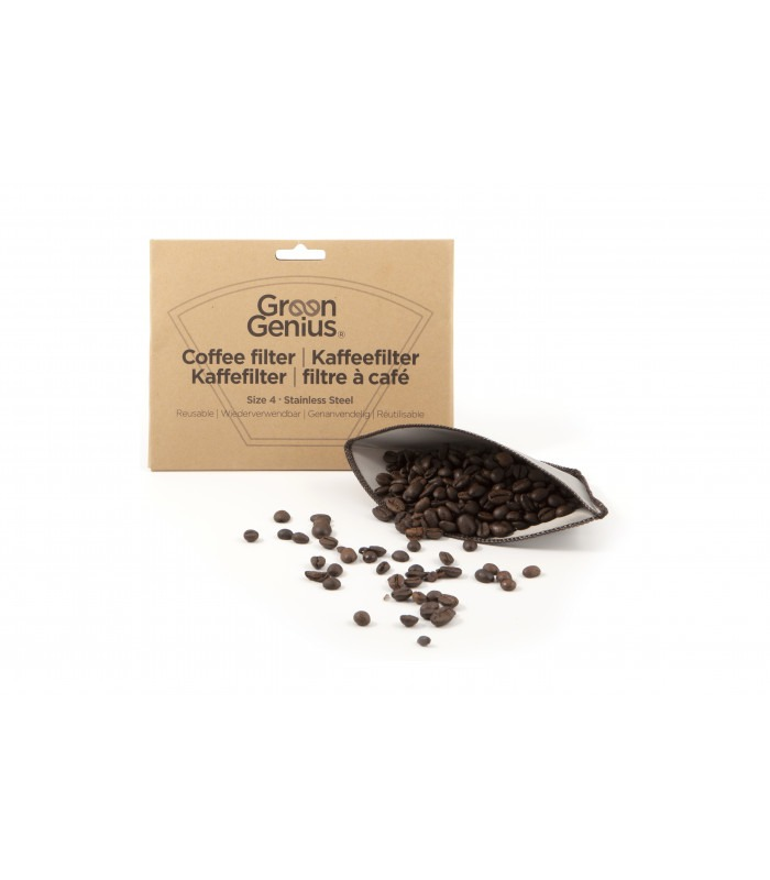 Kaffefilter av rustfritt stål, GreenGenius
