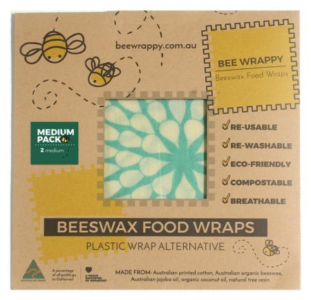 Bee Wrappy - bivoksark 2-pack - Medium