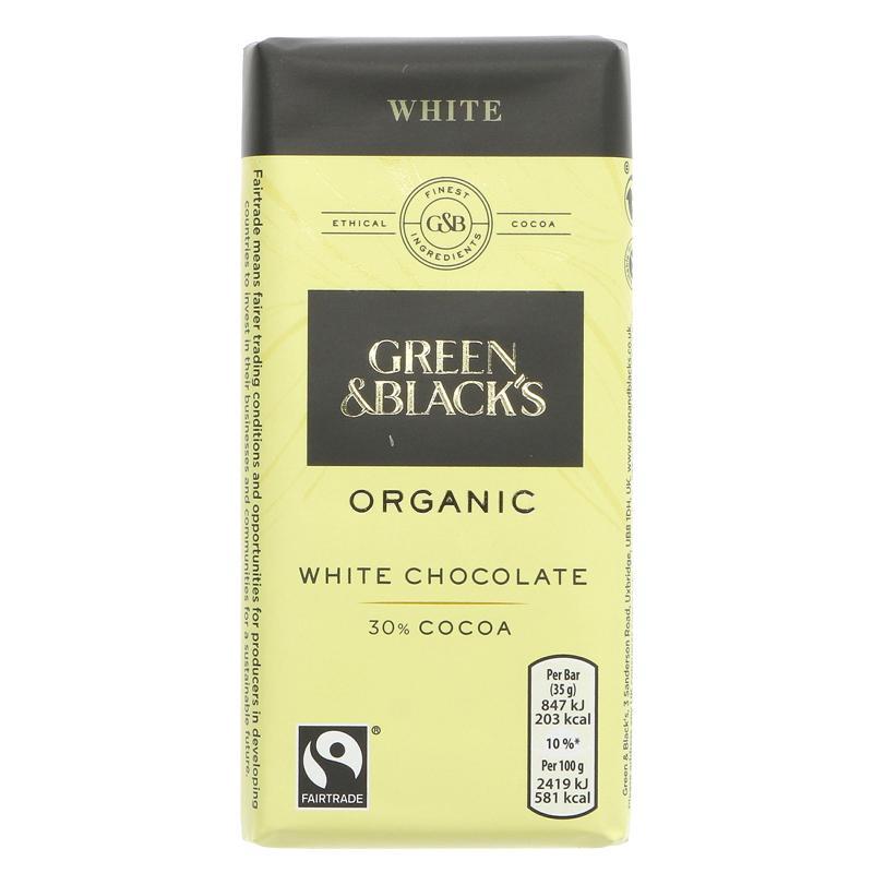 GB Hvit sjokolade mini - 35g