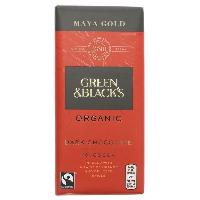 GB Maya Gold sjokolade - 90g