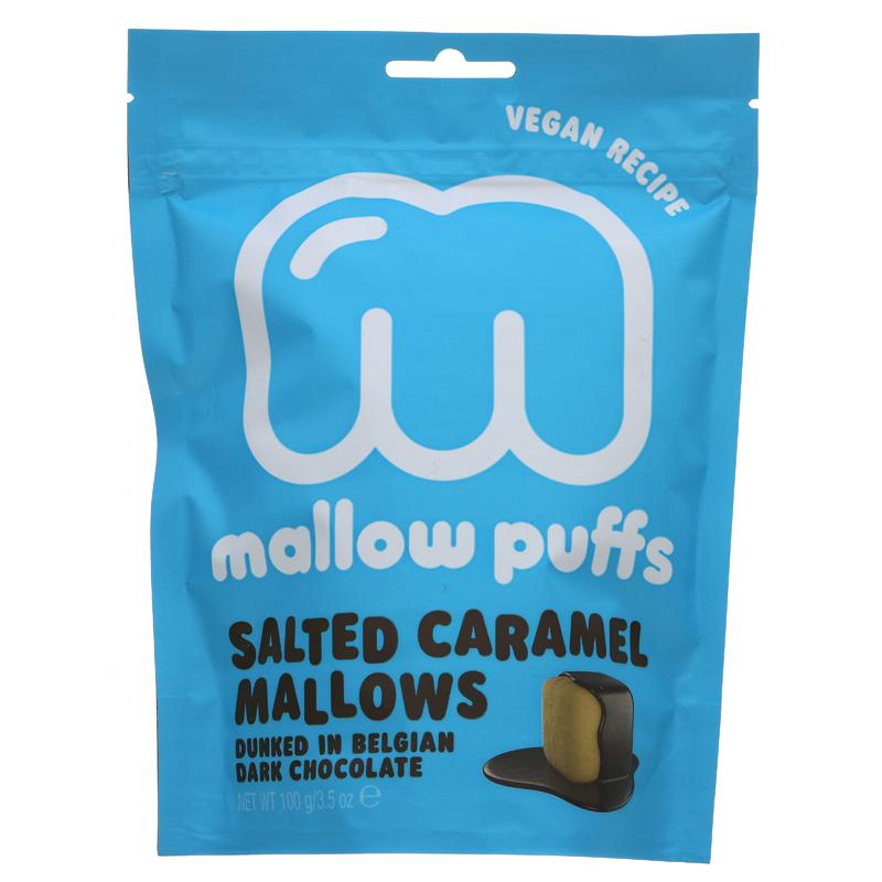Mallow Puffs Caramel Mallows 100g