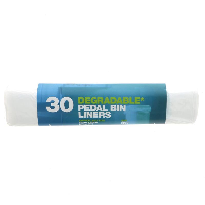 D2w Pedal Bin Liners - 30 bags