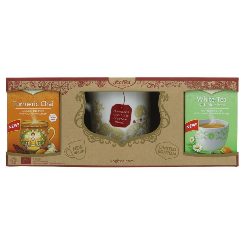 Yogi Tea Yogi Gift Pack with Cup