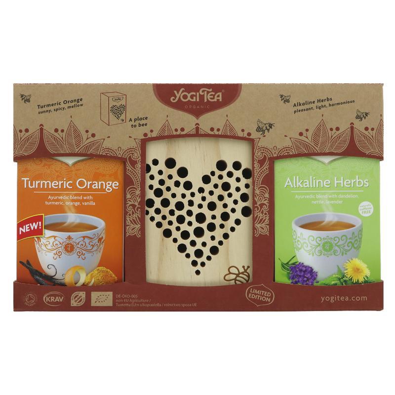 Yogi Tea Bee Hotel Gift Set with 2 Teas -  gift set