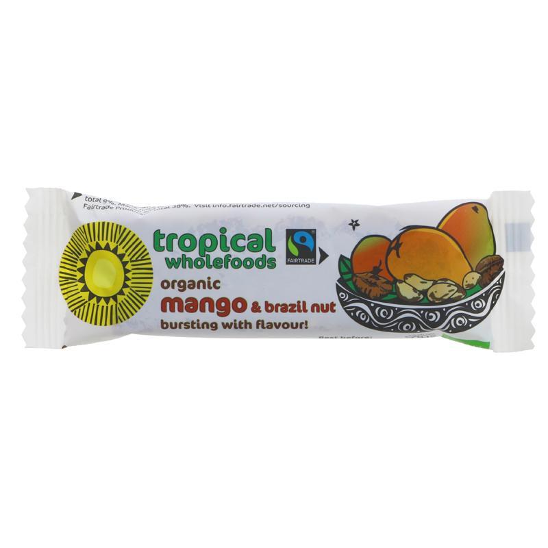 Tropical Wholefoods Organic Mango & Brazil - 40g
