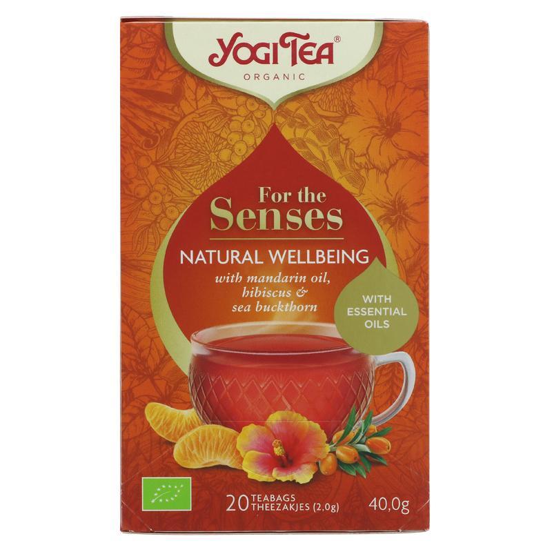 Yogi Tea Natural Wellbeing - 20 bags